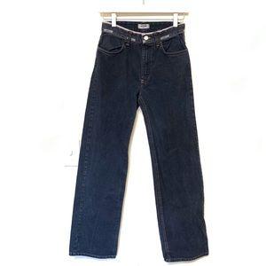 Vintage Moschino Logo Waistband Jeans 28